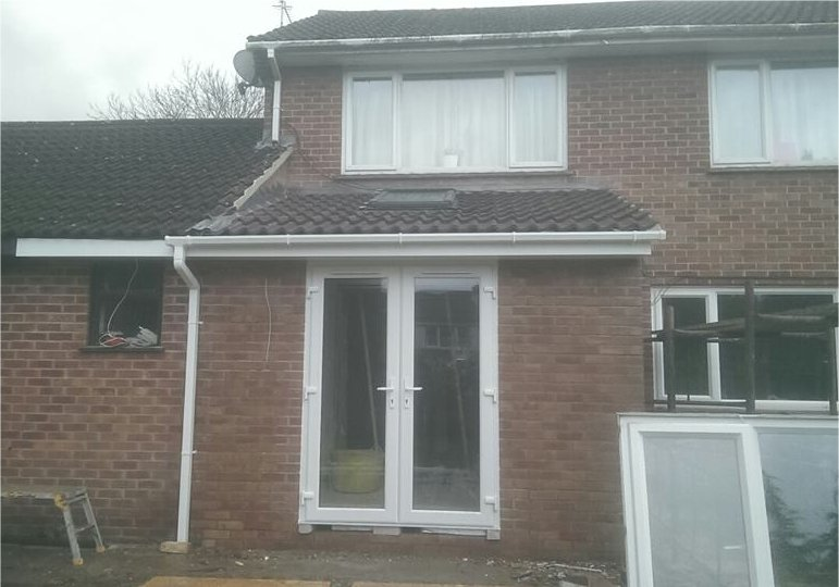 front extension on house